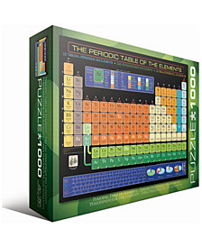 The Periodic Table of the Elements - 1000 Piece