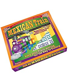 Mexican Train Double 12 Color Dot Dominoes - Professional Size