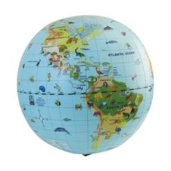 Animal Quest Giant Inflatable Globe and Game