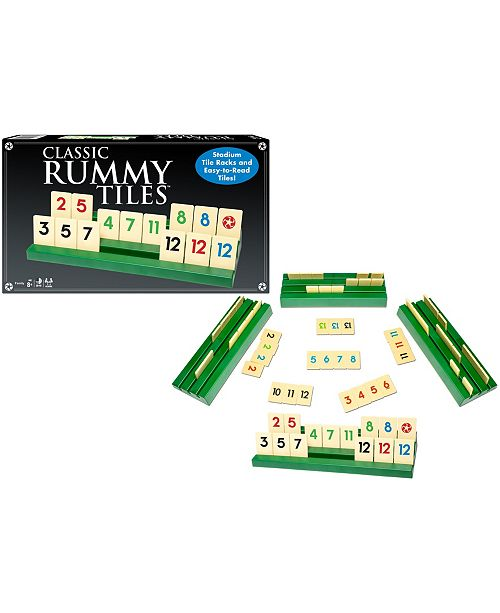 Winning Moves Clic Rummy Tiles