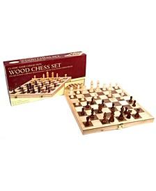 "18"" Deluxe Folding Chess Set"