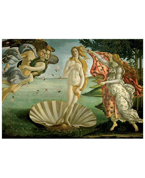 D-Toys Sandro Botticelli - Birth of Venus Jigsaw Puzzle- 1000 Pieces