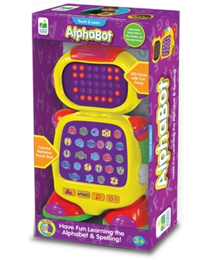 The Learning Journey Touch & Learn - AlphaBot - Interactive Alphabet, Spelling, & Phonics Robot Toy with Led Face and Three Quiz Modes