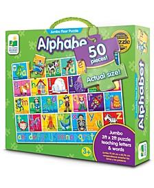 Alphabet Jumbo Floor Puzzle- 50 Piece