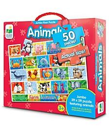 Animals Jumbo Floor Puzzle- 50 Piece