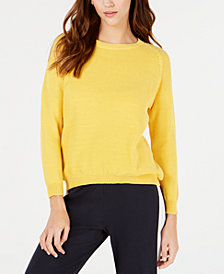 Weekend Max Mara Crewneck Cotton Sweater