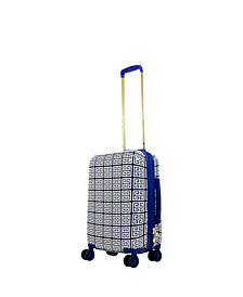 "Macbeth Collection Geo Print 29"" Hardside Spinner Suitcase"