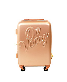 "Macbeth Collection 25"" On Vacay Spinner Suitcase"