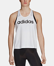 adidas Design 2 Move Split-Back Logo Training Tank Top