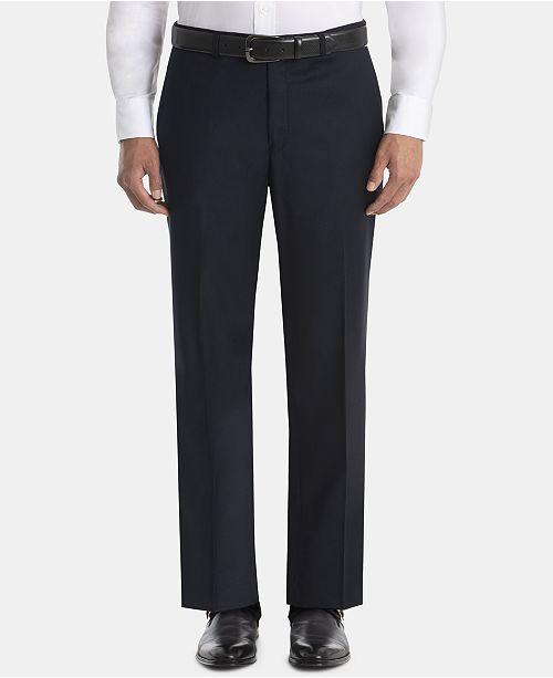 Lauren Ralph Lauren Men's UltraFlex Classic-Fit Navy Wool Pants
