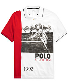 Polo Ralph Lauren Men's P-Wing Mesh Polo, Created for Macy's