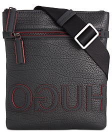 Hugo Boss Men's Victorian Leather Envelope Bag