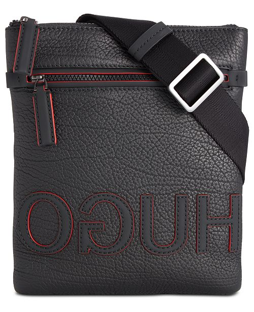 Hugo Boss Men's Victorian Leather Envelope Bag