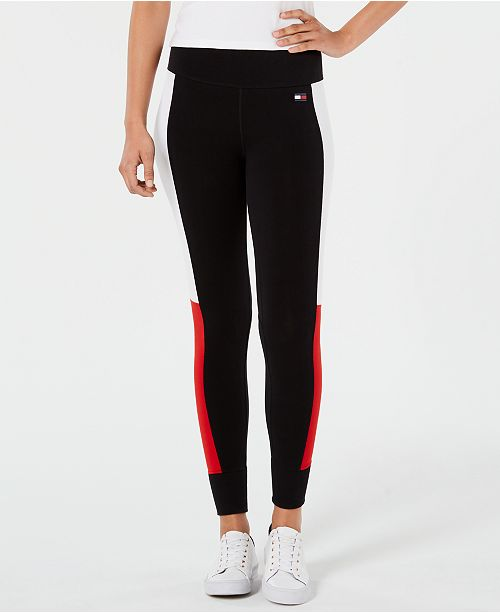 9c8a9578 ... Tommy Hilfiger Colorblocked Logo Leggings, Created for Macy's ...