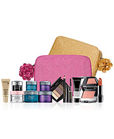 Customize Your FREE 7-Piece Gift with any $37.50 Lancôme Purchase, worth up to $131