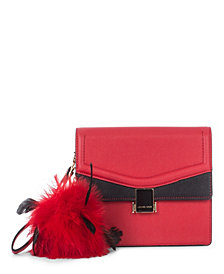 Céline Dion Collection Leather-Like Scale Clutch