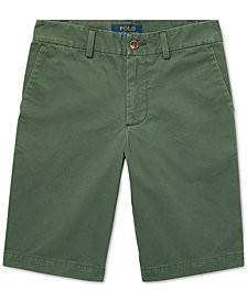 Polo Ralph Lauren Big Boys Slim Fit Cotton Chino Shorts