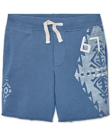 Polo Ralph Lauren Toddler Boys French Terry Graphic Cotton Shorts