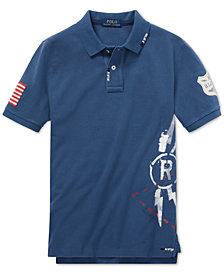 Polo Ralph Lauren Big Boys Graphic Cotton Polo