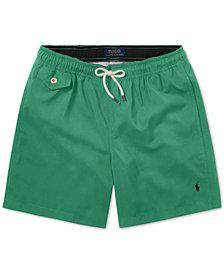 Polo Ralph Lauren Big Boys Traveler Twill Swim Trunks