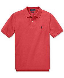 Polo Ralph Lauren Big Boys Cotton Mesh Polo