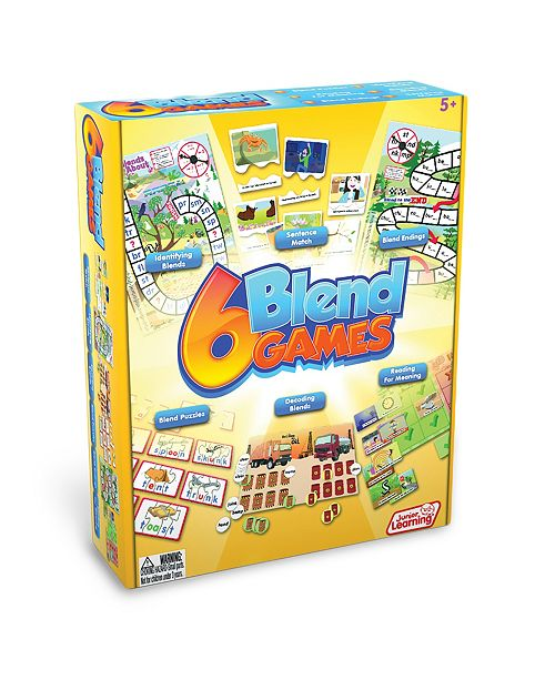 Junior Learning 6 Blend Game