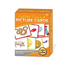 Junior Learning Letter Sounds Picture Cards Educational Learning Set
