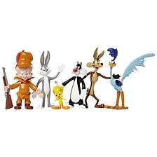 NJ Croce Looney Tunes 6 Piece Bendable Action Figure Boxed Set