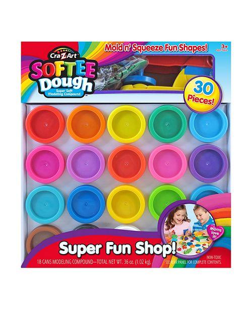 Cra-Z-Art Cra Z Art Softee Dough Super Soft Modeling Compound Super Fun Shop
