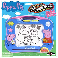 Cra Z Art Peppa Pig Travel Magna Doodle Magnetic Screen Drawing Toy