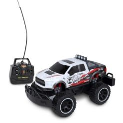 Mean Machines 1 is to 24 Scale Radio Controlled 2017 Ford F150 Raptor Rc Colors Vary Orange White - Dinosaur Toy