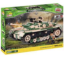 COBI Small Army World War II Stug IV Sdkfz 167 Tank 410 Piece Construction Blocks Building Kit