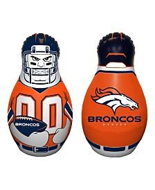 Fremont Die NFL Denver Broncos Tackle Buddy Inflatable Punching Bag