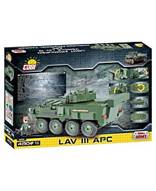 Small Army LAV III APC Light Armored Vehicle 480 Piece Construction Blocks Building Kit