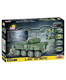 COBI Small Army LAV III APC Light Armored Vehicle 480 Piece Construction Blocks Building Kit
