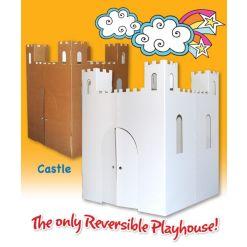Easy Playhouse Castle Cardboard Playhouse