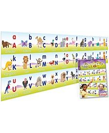 Alphabet Zoo Wall Border
