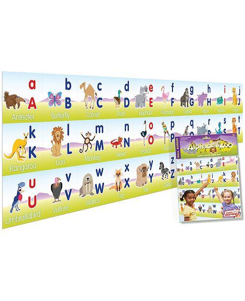 Junior Learning Alphabet Zoo Wall Border