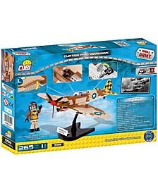 Small Army World War II Curtiss P40K Warhawk Airplane 265 Piece Construction Blocks Building Kit