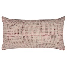 """Rizzy Home 14"""" x 26"""" Ditsy Pillow Down Filled"""