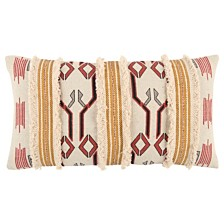 "Rizzy Home 14"" x 26"" Tribal Design Down Filled Pillow"