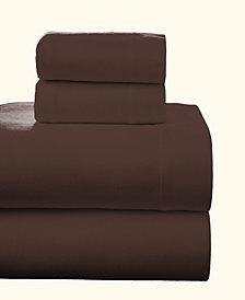 Pointehaven Superior Weight Cotton Flannel Sheet Set