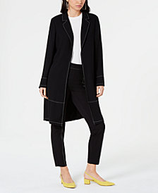 Alfani Contrast Stitch Jacket & Contrast Stitch Skinny Pant