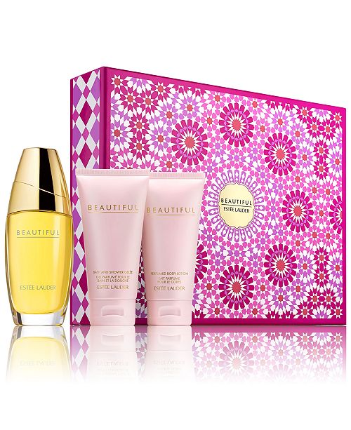 Estee Lauder 3-Pc. Beautiful Romantic Favorites Gift Set