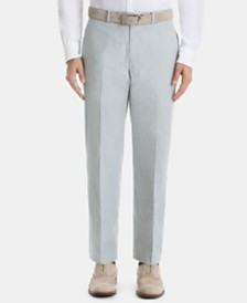 Lauren Ralph Lauren Men's UltraFlex Classic-Fit Stripe Cotton Pants