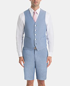 Men's UltraFlex Classic-Fit Chambray Vest