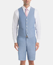 Lauren Ralph Lauren Men's UltraFlex Classic-Fit Chambray Vest