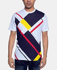 Sean John Men's Geometric Print T-Shirt