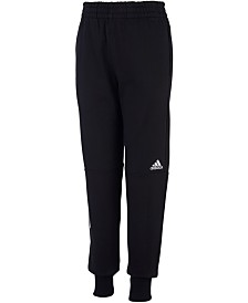 adidas Big Boys Transitional Cotton Jogger Pants