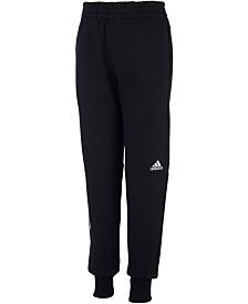 adidas Big Boys Transitional Cotton Jogger Pants